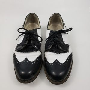 Footjoy Classics Leather Wingtip Kiltie Golf shoes